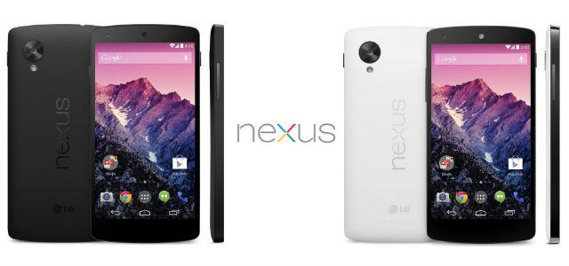 Nexus 5 - Black vs White
