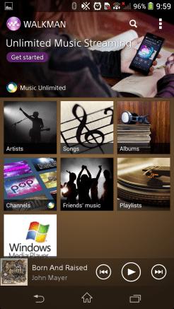 Sony Walkman (Music player)
