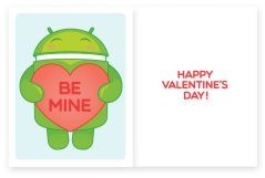 Android Foundry Valentines Day Card 1