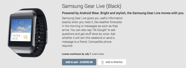 Samsung Gear Live