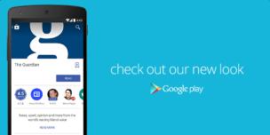 Material Design Google Play - Newsstand