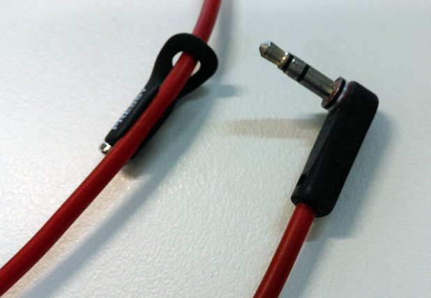 A red Beats cable fares no better.