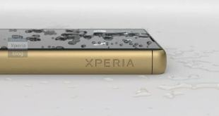 Xperia Z5 Press Shot - Gold