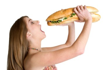 woman-eating-bread
