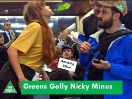 Greens Golly Nicky Minus