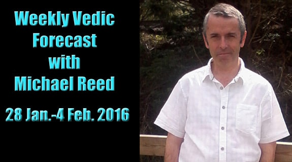 Weekly Vedic Forecast with Michael Reed-28th January-4th February, 2016
