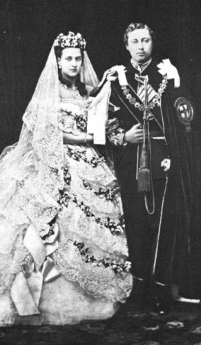 Wedding of the Prince of Wales & Princess Alexandra of Denmark, 1863.