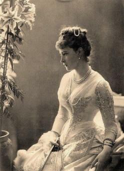 Grand Duchess Elizaveta Feodorovna of Russia, 1887.