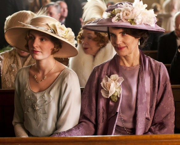 Lady Cora and Lady Edith