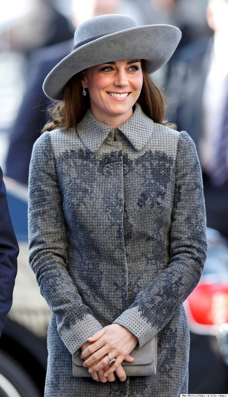 Catherine attends the Commonwealth Observance Day Service at Westminster Abbey on March 14, 2016 in London, England. Source: Max Mumby / Indigo / Getty Images.