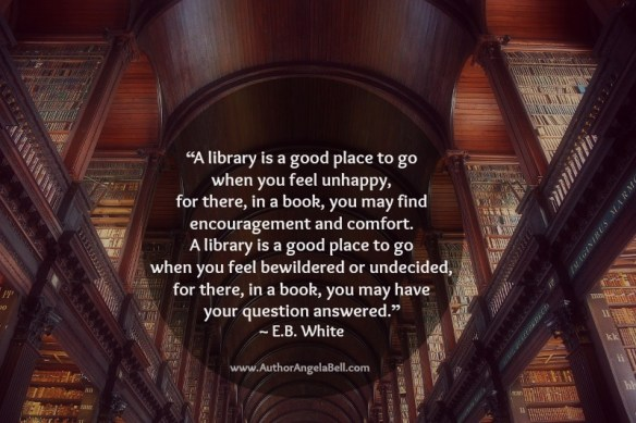 Library Quote E.B. White