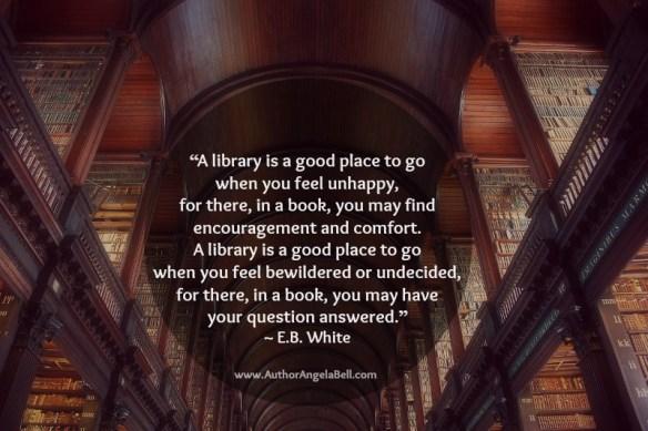 Library Quote E.B. White
