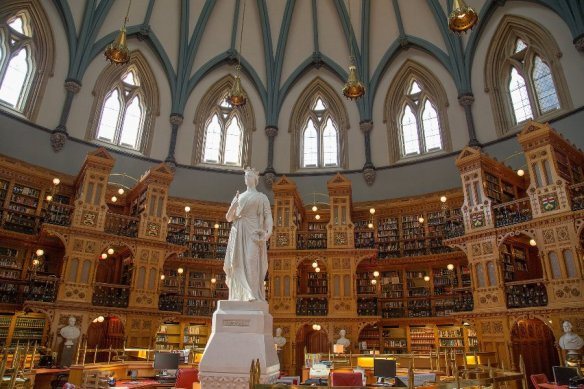 The Library of Parliament ~ Ottawa, Canada. Image Source: Flickr User Tony Webster