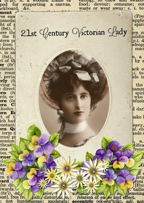 21st Century Victorian Lady