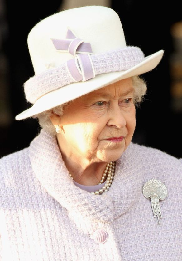 Queen Elizabeth leaves Sandringham Church after traditional Christmas Day service at on December 25, 2011 in King's Lynn, England. / Source: Chris Jackson, Getty Image Europe