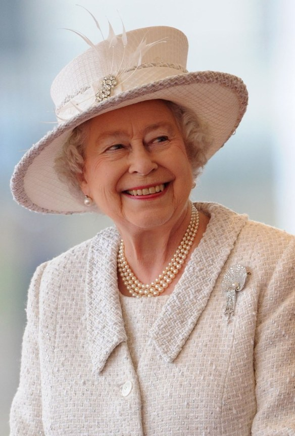 Queen Elizabeth II pictured on November 22, 2011 by WPA Pool. / Source: Getty Images