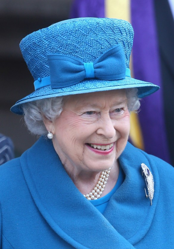 Queen Elizabeth visits Royal Holloway at University Of London on March 14, 2014 in Egham, England. / Source: Chris Jackson, Getty Images