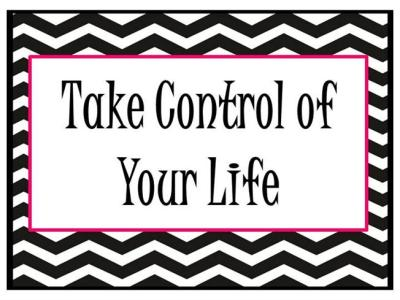 Take Control of Your Life |authorSTREAM
