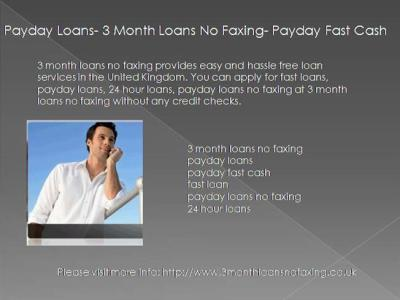 Payday Loans No Faxing |authorSTREAM
