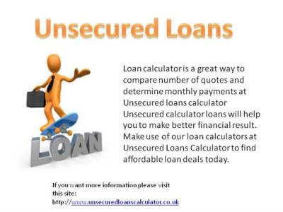 Unsecured Loans |authorSTREAM