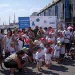 Escolares con discapacidad de Valencia celebran el Día Mundial del Medio Ambiente con una jornada de integración.