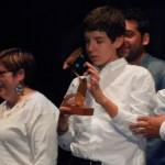 Adolescente con TEA premiado en el Certamen Nacional Igual Arte 2013
