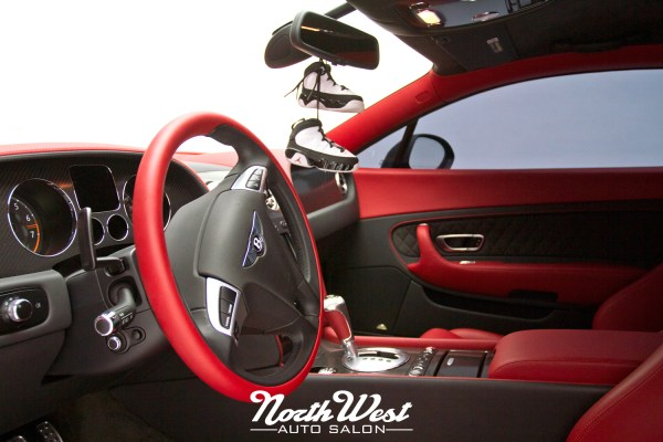 project exodus matte black bentley supersports wrap northwest auto salon. Black Bedroom Furniture Sets. Home Design Ideas