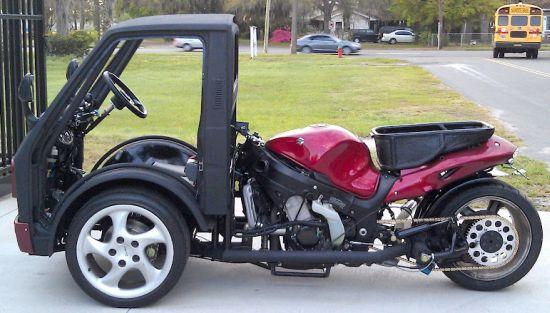 Hayabusa Reverse Trike