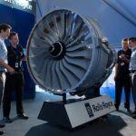 Trent 1000 engine replica in lego 5