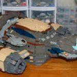 Adrian Drak's Lego Firefly Serenity model  7