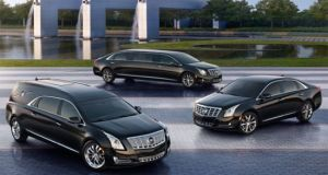 Cadillac  Livery sedan, Limousine and Hearse models