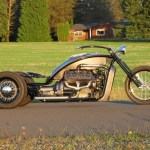 Ford Flathead V8 powered trike  1