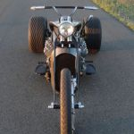 Ford Flathead V8 powered trike 6