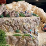Citroen's unique Diorama on real DS3 c