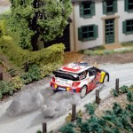 Citroen's unique Diorama on real DS3 e