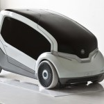 Designers imagine city electric car for Czech automaker in Skoda ONE 8