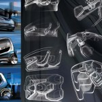 Designers imagine city electric car for Czech automaker in Skoda ONE 9