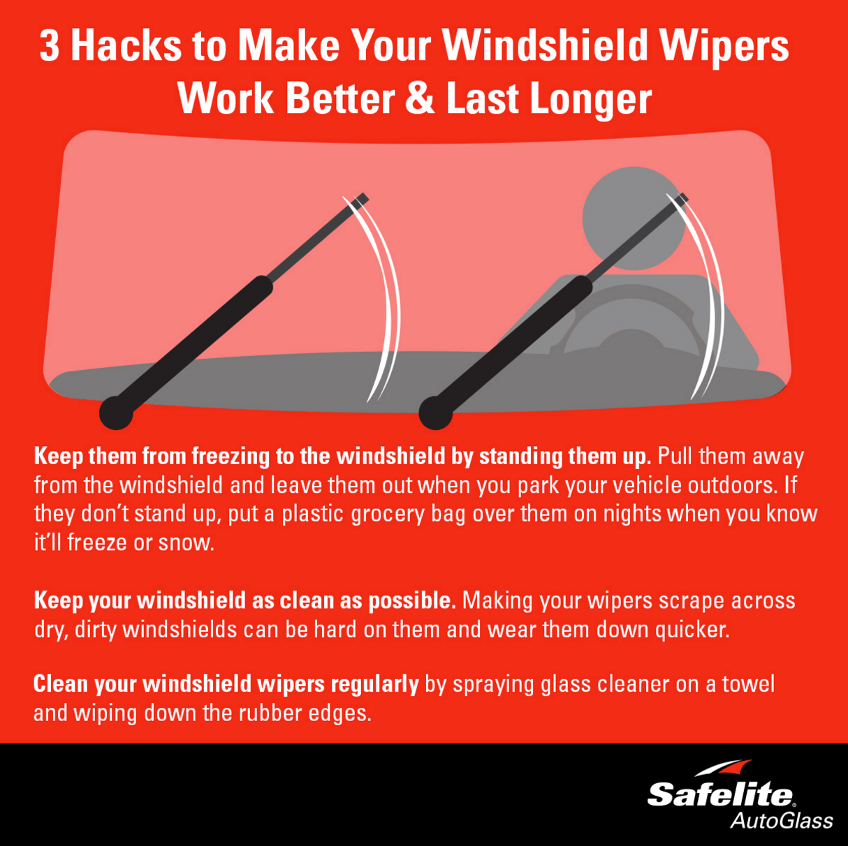Make your windshield wipers last longer