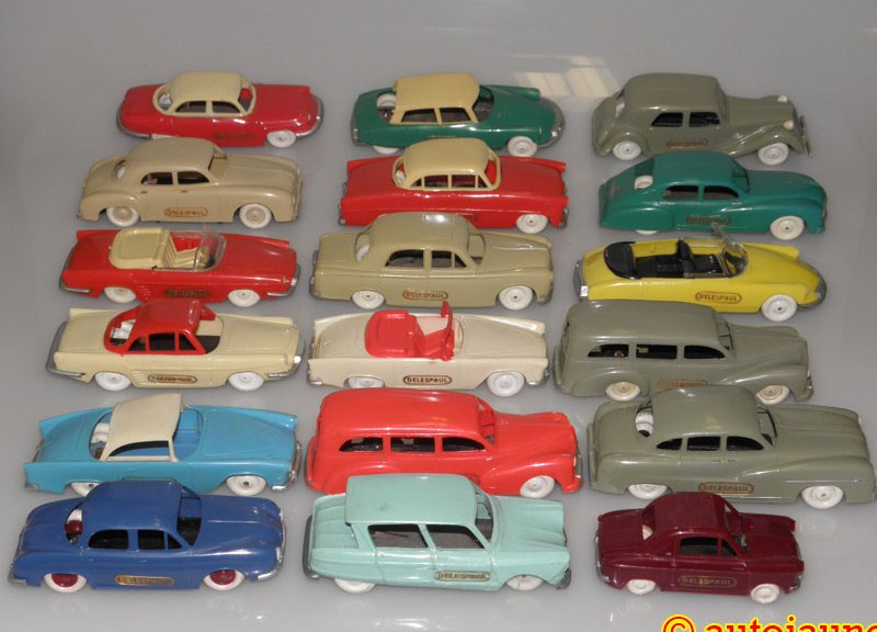 Il a fallu en manger du chocolat pour rassembler toutes ces autos !