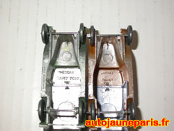 Gravures Hornby ou Dinky Toys