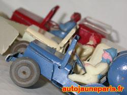 Polichinelle: bataillon de Jeep