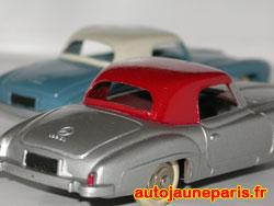 Mercedes 190 SL Dinky Toys essais de couleur