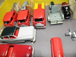 Terrot et camions de pompiers