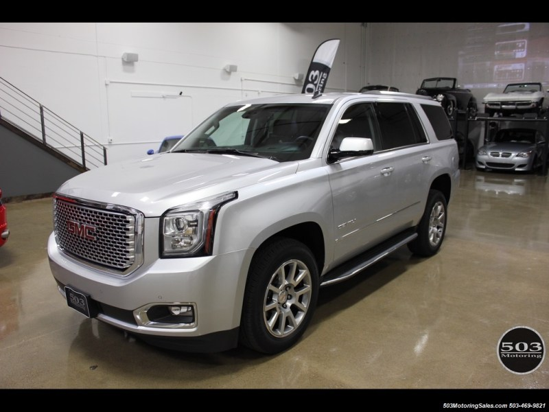 2015 GMC Yukon Denali 2015 GMC Yukon Denali   Photo 1   Beaverton  OR 97005