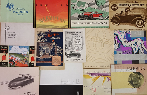Collector To Auction Off 14 000 Classic Auto Brochures Re  Collector To Auction Off 14 000 Classic Auto Brochures
