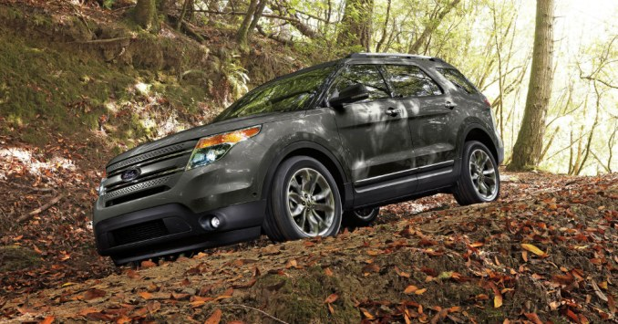 2015 Ford Explorer Fall