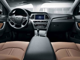 2015 Hyundai Sonata Leather Interior