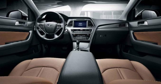 2015 Hyundai Sonata Leather Interior