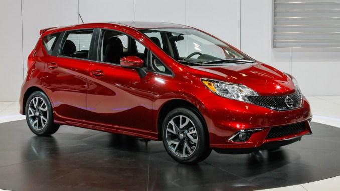 2015 Nissan Versa Fuel
