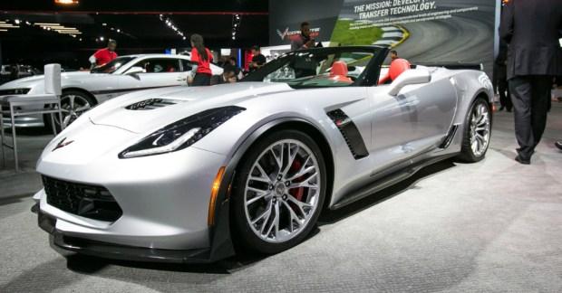 Corvette Detroit Auto Show